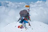 Вершина Западная, 5642 м.-гора Эльбрус