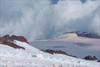 Радуга над Эльбрусом-гора Эльбрус