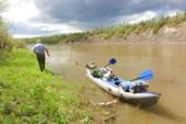 Ведение лодки по бичевнику