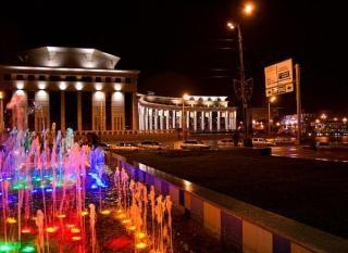 Каскад фонтанов