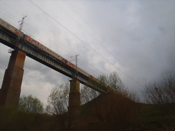 Железнодорожный мост.