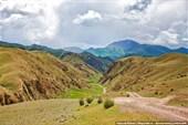 Дорога на перевал Чильбель