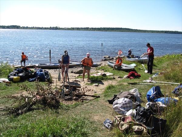 Наш лагерь в Онеге