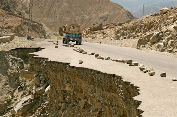 После ночного землятресения