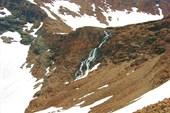 Водопад в верховьях  Левой Пайеры.