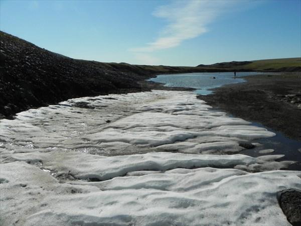 Ледник на Тулай-Киряка