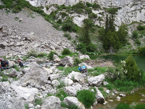Т.н. Малое озеро перед оз.Афлатун