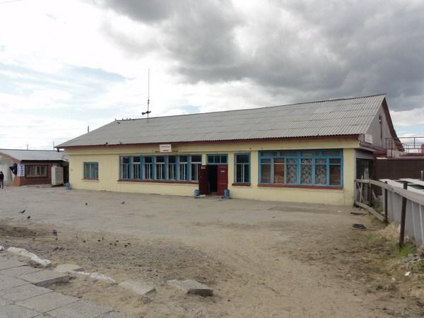 Старый вокзал.