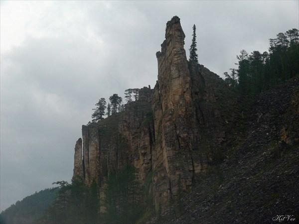 Скалы в урочище Хаспохтох