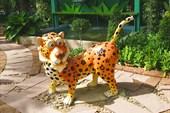 Прикольный леопард.