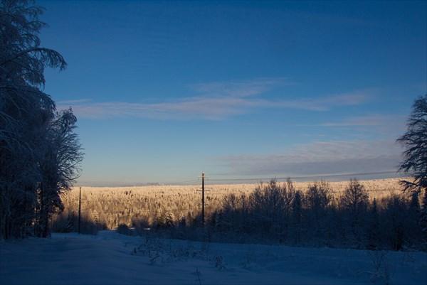Морозная зима