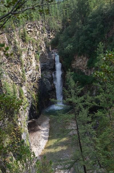 Водопад на р. Сухой Иден