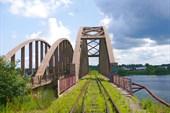 Ж/Д мост через Жабню