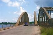 Автомобильный мост через Жабню.