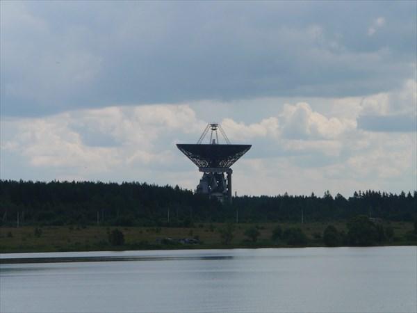 Антенна связи с космосом.