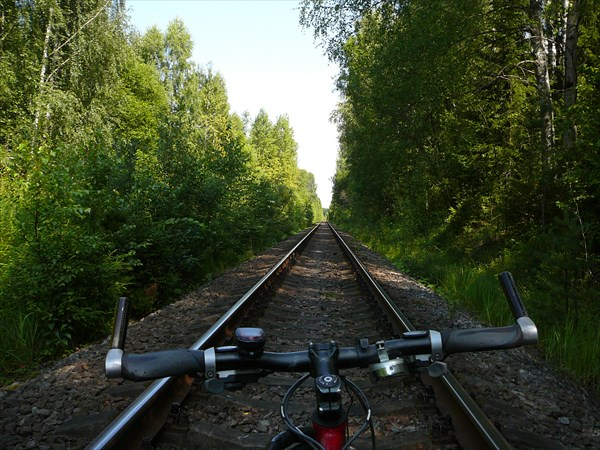 Езда по шпалам