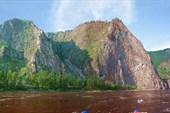 Скалы после порога Тумуллурский