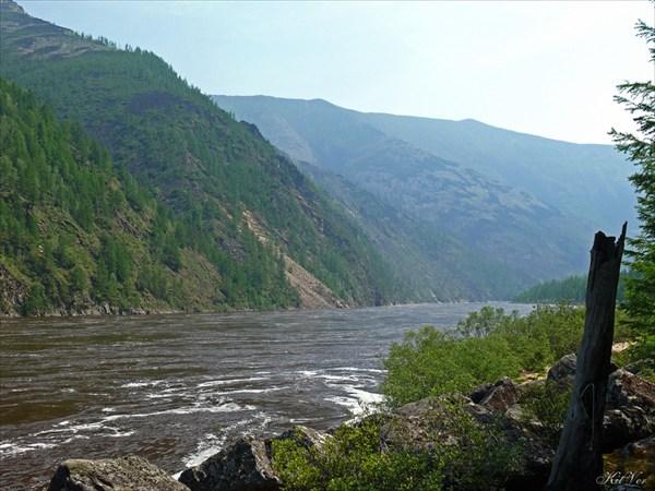 Улово  перед притоком Тумуллур