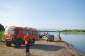 Переправа через реку Камчатка