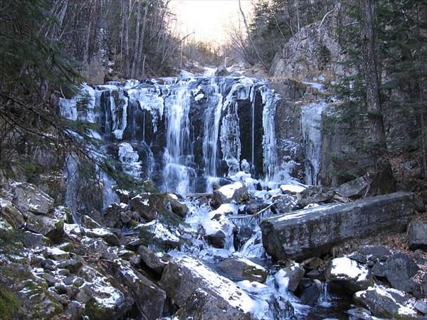 Водопад зимой