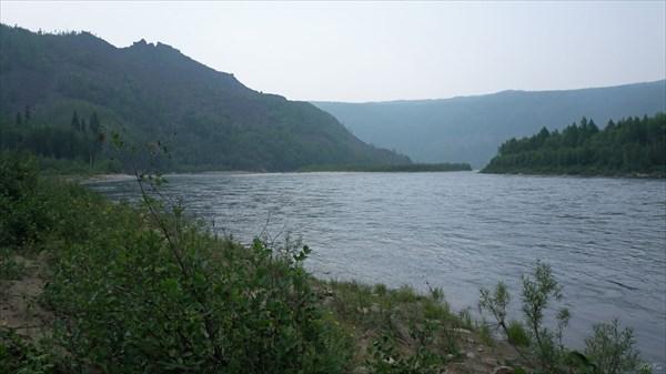 Чара ниже притока Дербергеляк