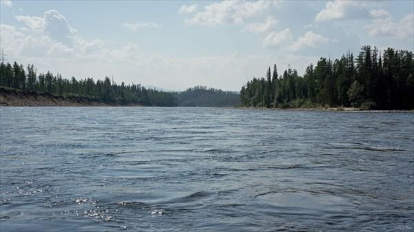 Чара перед притоком Хара-Юрях