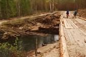 Мост через р. Большой Марнтын