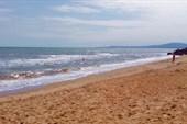 Санаторий, пляж