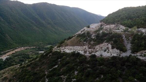 Дорога в Леваши