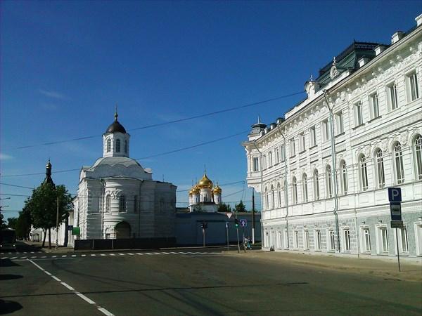 Бывшие Доходные дома Третьякова конец 18 в, Кострома