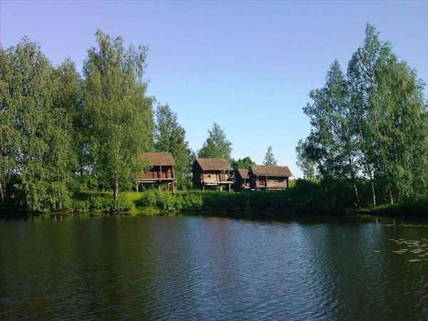 Бани из деревни Ведерки Костромского района. Конец XIX века.