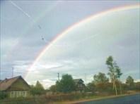 Сквозь двойную арку радуги
