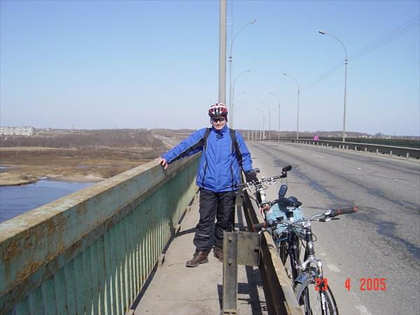 А - 114 Вологда-Н.Ладога, мост через р. Шексна