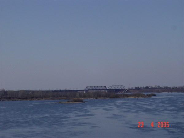 А - 114 Вологда-Н.Ладога, жд мост через р. Шексна