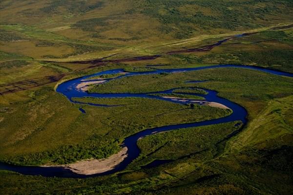 на фото: Река