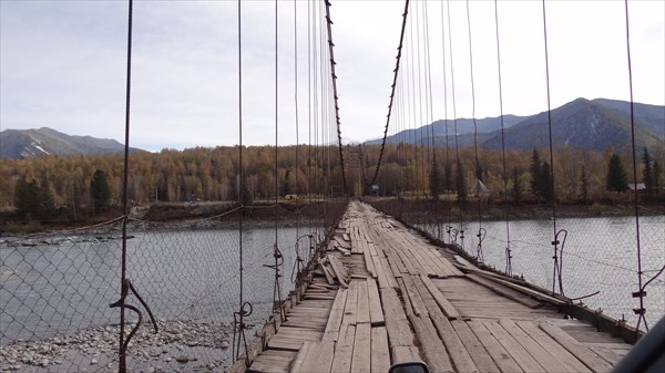 Мост из щепок