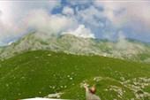 вид на гору Хипста