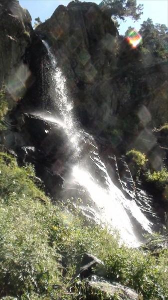 Сам Баритовый водопадик