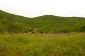 Гора, по которой я лазал с велосипедом