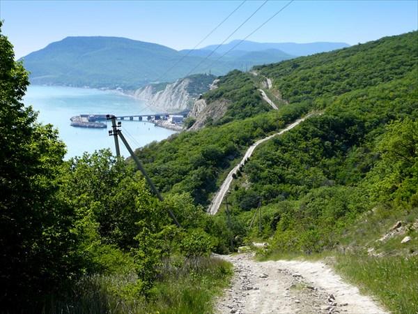 Дорога Широкая Балка - Южная Озереевка