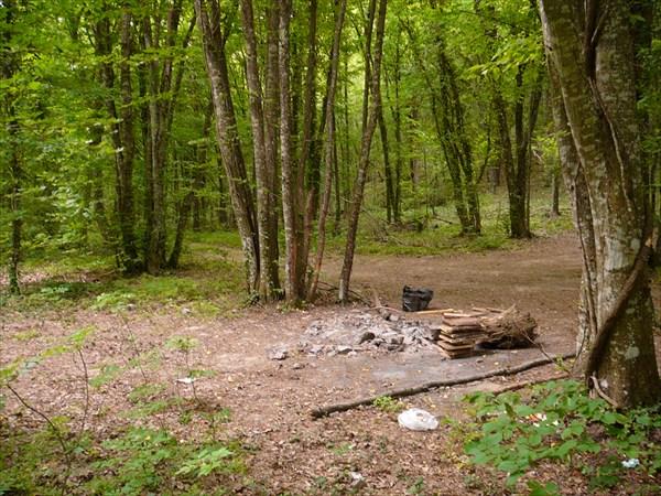 Место для лагеря.