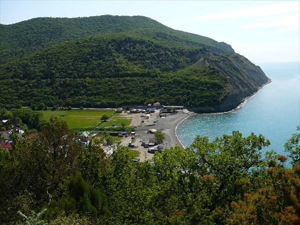 Вид на поселок Дюрсо