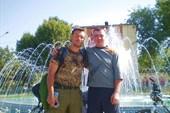 С Евгением-автостопщиком из Москвы