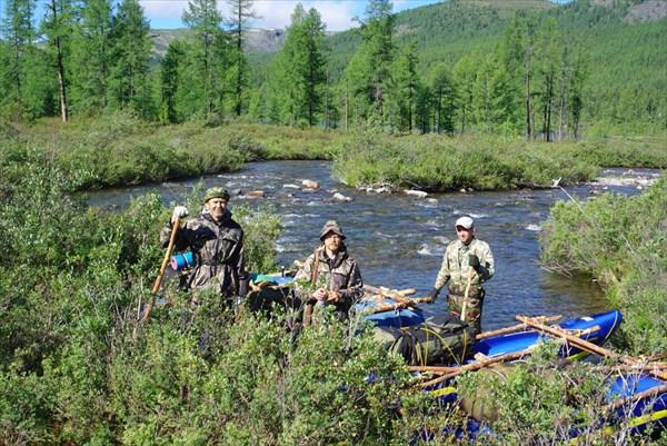 Экспедиционеры готовы к сплаву