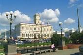 Москва. Ленинградский вокзал.