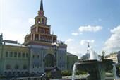 Москва. Казанский вокзал.