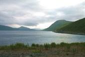 Laksefjorden с дороги на Нордкин