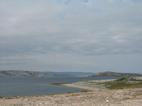 Виды на море после г. Лаксельв с дороги №98