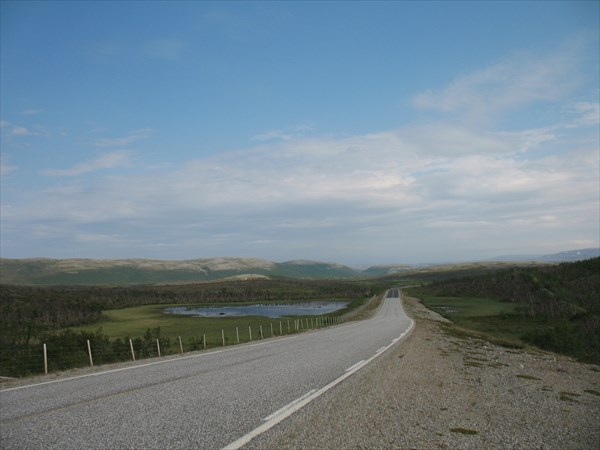 Дорога через тундру