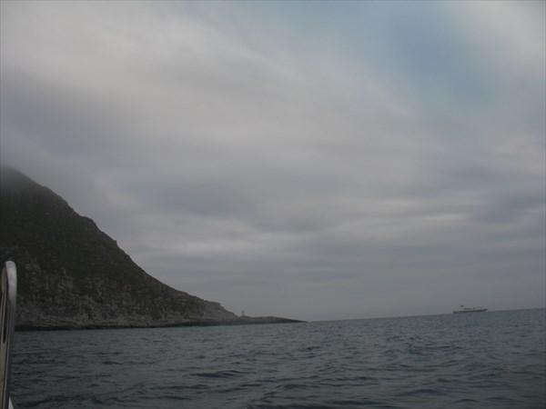 Впереди - мыс Нордкин- настоящая северная точка Европы